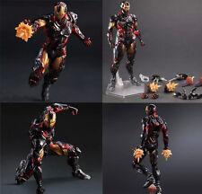 Play Arts Kai PA Avengers Iron Man Tony Stark Action Figure Toy Doll 3D Model Go