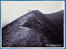 large vintage photo Bromo volcano by Kurkdjian Java Dutch Indonesia foto 1925 b