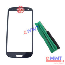 Blue Front Screen Cover Glass +Tools for Samsung Galaxy S3 Neo GT-i9301i ZVGS113