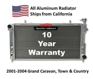 All Aluminum Radiator Grand Caravan Town & Country Grand Voyager DPI2311 HPR881