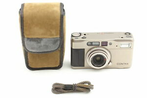 [ Exc+5 Case ] Contax TVS Point & Shoot 35mm Film Camera w/ Case From JAPAN