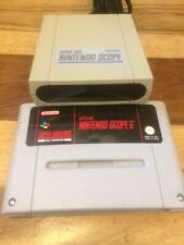 Nintendo Snes Scope Game and Sensor