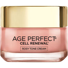 LOreal Paris Skin Care Age Perfect Cell Renewal Rosy Tone Moisturizer 1.7 oz