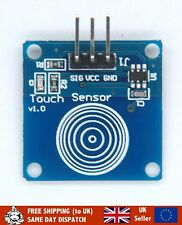 Capacitive Touch Sensor/Switch for Arduino, Pi, ESP8266, UK Seller