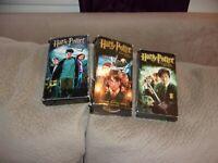 Harry Potter,  Chamber of Secrets, Prisoner of Azkaban,  The Sorcerer's Stone