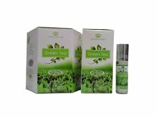 6 Green Tea 6ml By Al Rehab Perfume Oil Alcohol Free Fresh Leaf Rare Collection
