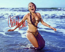 REPRINT - CARRIE FISHER 4 ~ Autographed signed photo 8x10