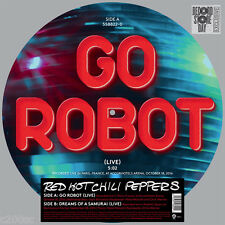 """RED HOT CHILI PEPPERS - GO ROBOT, 2017 RECORD STORE DAY 12"""" PICTURE DISC, NEW!"""