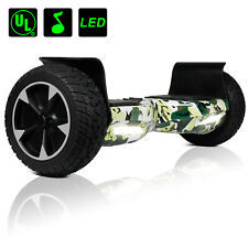 8.5'' Bluetooth Hoverboard Led Electric Balancing Scooter Ul2272 Hummer W/ Bag