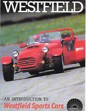 WESTFIELD SPORTSCARS MODEL RANGE KIT CAR SALES BROCHURE  FOR THE1990's