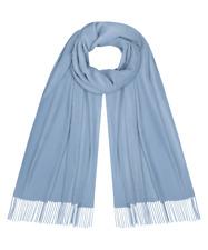 Blau eis Kaschmir Cashmere Kashmir Wolle Schal 200x70 Tuch Halstuch Stola neu 81