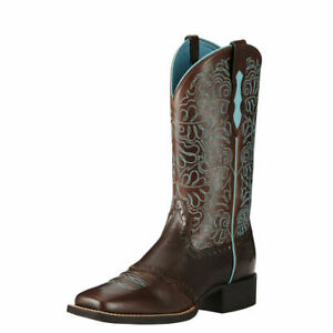 Ariat Womens Round Up Remuda Western Boots New
