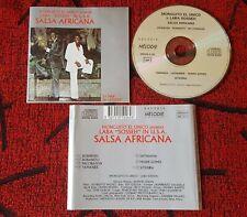 "MONGUITO EL UNICO & LABA ""SOSSEH"" **Salsa Africana** ORIGINAL USA CD"