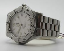 TAG HEUER WK1321-1 WOMENS ALL STAINLESS STEEL PROFESSIONAL WATCH