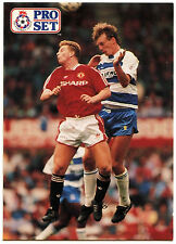 Alan McDonald Queens Park Rangers #325 Pro Set Football 1991-2 Trade Card (C364)