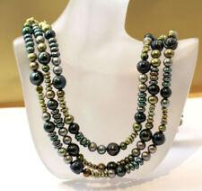 Halsketten mit echten Gelbvergoldet Perlen aus für Damen