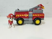 Paw Patrol Marshall & action Fire Truck transforming