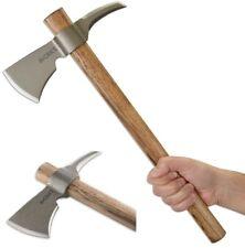 CRKT Woods Kangee T-Hawk Tomahawk w/Spike 1055 Carbon Steel Hickory Handle 2735