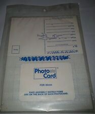 Its A Boy Birth Announcement Photo Cards NIP 1982 Postcard 6 Picture Frames