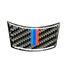 For BMW 04-2010 5 Series E60 Carbon Fiber M-stripe Car Steering Wheel Cover Trim