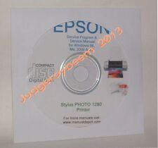 Epson 1280 stylus color printer service program new