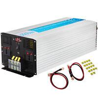 Convertitore 5000W/10000W Power Inverter Onda Sinusoidale Pura 24V a 220V