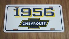 1956 Chevrolet license plate car tag 56 Chevy Bel Air Nomad Pickup Truck Wagon