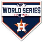 Houston Astros 2021 World Series Die Cut Glossy Fridge Magnet