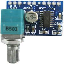 PAM8403 5V 3W+3W Audio Digital Amplifier Board with Volume Control W:2WW::
