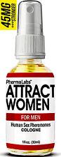 The Secret To ATTRACT Beautiful WOMEN ! PHEROMONES Cologne 1oz phermalabs #045