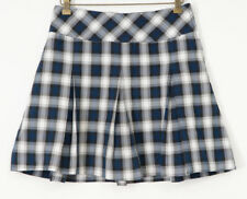 Educational Outfitters Skirt School Uniform 0 Blue Black White Plaid Pleated