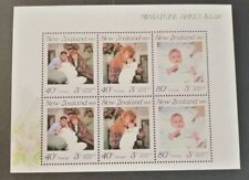 N. Zealand 1989 Health Stamps m/s MUH H6