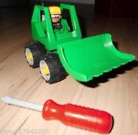 Lego Duplo Toolo Set 3587  Baustelle  Mini Dozer  Bulldozer Education