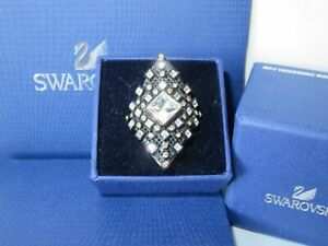 "GENUINE Swan Signed SWAROVSKI ""Sienna"" Ring - Size 58 -  #1156189"