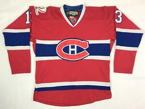 Cammalleri #13 Montreal Canadiens 2009 Centenary 100th Anniversary Jersey Sz 50