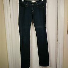 "Habitual Made USA Caroline Straight Leg Jeans 34"" Waist 35"" Insm Glory Cross Wms"