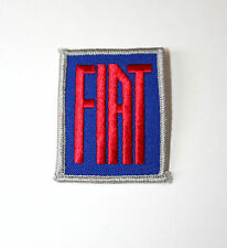 Vintage Fiat Automotive Car Service Mechanic Cloth Jacket Patch New NOS 1970s