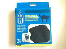 Catit® Ersatz Aktivkohle Filter Einsatz Filtereinsatz Katzen Toilette +Abdeckung