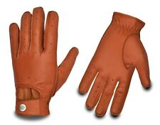 Unisex Leather Glove Car Bus Driving Gloves Chauffeur Classic Vintage Retro