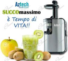 Estrattore di Succo Vivo a freddo per Frutta Verdura fresca succo vivo AZTECH