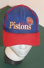 Embroidered DETROIT PISTONS Limited Edition NBA Baseball Style Snapback Hat Cap