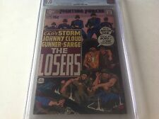 OUR FIGHTING FORCES 124 CGC 9.0 2ND APPEARANCE LOSERS JOE KUBERT DC COMICS