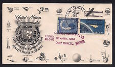 1963 US ORANGE ROCKET CLUB - UN, Project Mercury, NASA  55C1