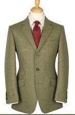 Cordings 19 oz. Herringbone Firley Khaki Tweed Jacket 38L