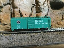 N Scale Atlas 40' Ps-1 boxcar Gn. Great Northern mag couplers Nib