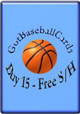 2012-13 Upper Deck SP Authentic NBA - Finish Your Set *GOTBASEBALLCARDS