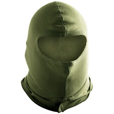 Helikon Tactical Combat 1 Hole Balaclava Cotton Mask Airsoft Paintball Olive OD