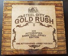 Gold Rush 2016 Autographed Basketball Jersey Edition One Autographed Jersey Box