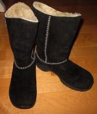 Merrell Wms Black Suede Winter / Snow Boots 7