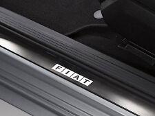 6 x Fiat Aufkleber für Einstiegsleisten 500 Brava Freemont Coupe Emblem Logo